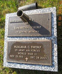 LeMartha <I>Stehr</I> Thorp