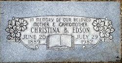 Christina B Edson