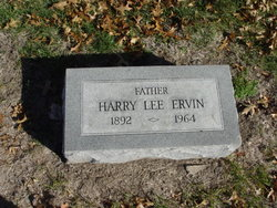 Harry Lee Ervin