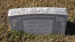 Elma Louise <I>O'Neal</I> Wilkes
