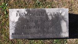 Rusia Hallie Gainey, Sr