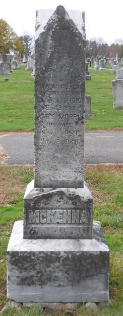 Mary <I>Morris</I> McKenna