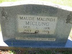 Maude Malinda McClung