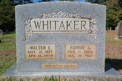 Fannie <I>Alexander</I> Whitaker