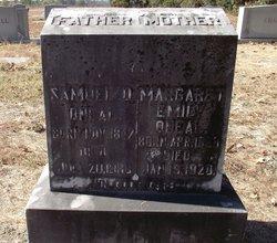 Margaret Emily <I>Crowley</I> O'Neal