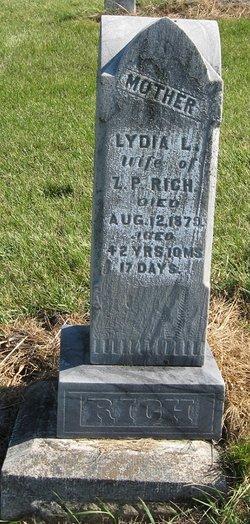 Lydia L. <I>Whitman</I> Rich