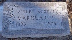 Violet Harriet <I>Austin</I> Marquardt