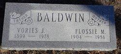 """Vories Jay """"Bo"""" Baldwin"""