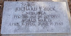 Richard F Buck