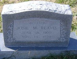 Josie May <I>Heape</I> Reavis