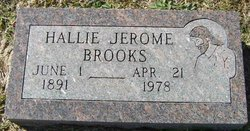 Hallie Jerome Brooks