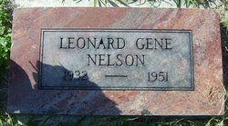 Leonard Gene Nelson