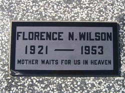 Florence N. <I>Nelson</I> Wilson