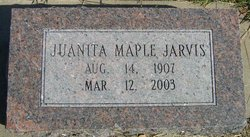 Juanita <I>Maple</I> Jarvis