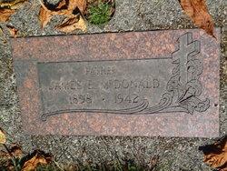 James E McDonald