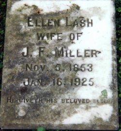 Ellen Caroline <I>Lash</I> Miller