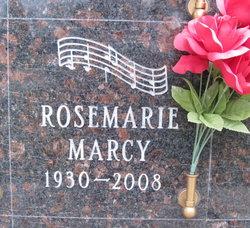 Rosemarie <I>Baehr</I> Marcy