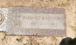 Margaret M Boettcher