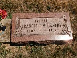 Francis J McCarthy