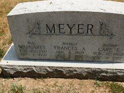 Frances A Meyer