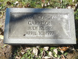 Mary Gordon Garrison