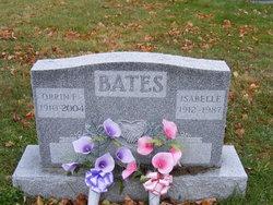 Isabelle Edna <I>Hutchings</I> Bates