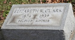 Elizabeth W Clark