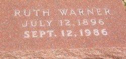 Ruth Ann <I>Hodler</I> Warner