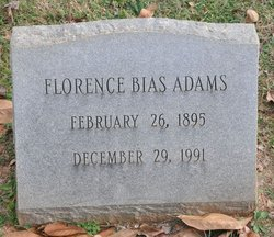 Florence Bias Adams