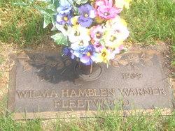 Wilma Hamblin <I>Fleetwood</I> Warner