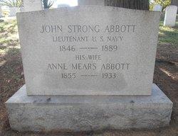 Anne Louise <I>Mears</I> Abbott