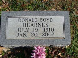 Donald Boyd Hearnes