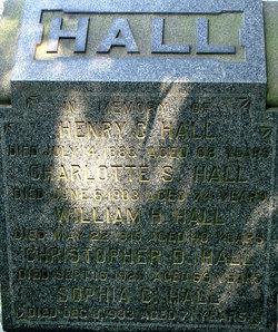 Christopher D., Hall