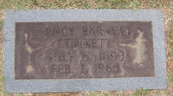 Nancy <I>Barnett</I> Stinnett