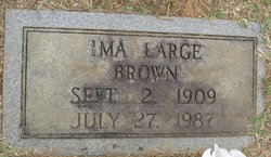Ima <I>Large</I> Brown