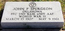 John P. Spurgeon