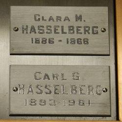 """Klara Maria """"Clara"""" <I>Holmberg</I> Hasselberg"""