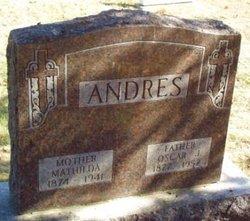 Mathilda <I>Olson</I> Andres