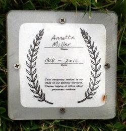 Annette Florence <I>Verkovsky</I> Miller