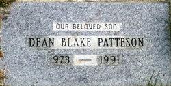 Dean Blake Patteson