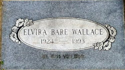 Elvira Bare Wallace