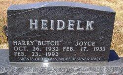 """Harry """"Butch"""" Heidelk"""