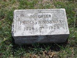 Frances A Bossinger