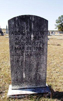 Addie <I>Boswell</I> Moore