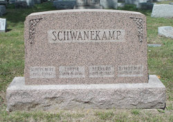 Harriet <I>Schwanekamp</I> Burt