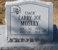 "Larry Joe ""Coach"" Mosley"
