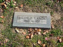 Mildred Faith <I>Doxey</I> Knox