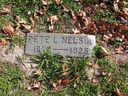 """Peter Lafayette """"Pete"""" Nelson"""