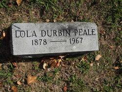 Lola <I>Durbin</I> Peale