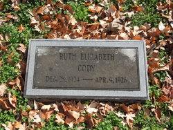 Ruth Elizabeth Cody
